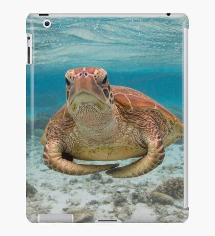 Turtle yoga pose iPad Case/Skin