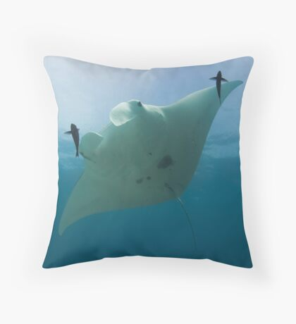 Manta ID Throw Pillow