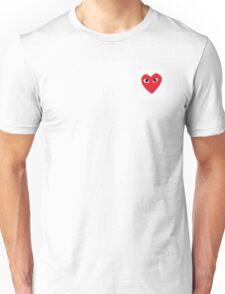 heart product Unisex T-Shirt