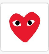 heart product Sticker