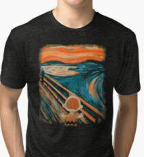 Skrik Tri-blend T-Shirt