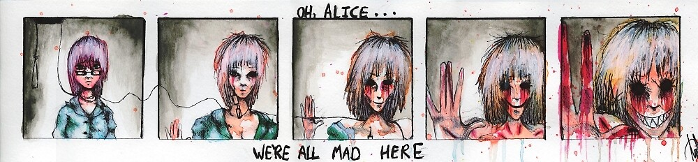 ALICE AND THE DEMON, PART TWO by Sarah J Gibson