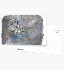 Claptrap in Space Postcards