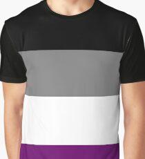 Asexual Pride Flag Shirt Graphic T-Shirt