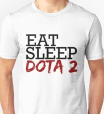 Eat sleep Dota 2 Unisex T-Shirt