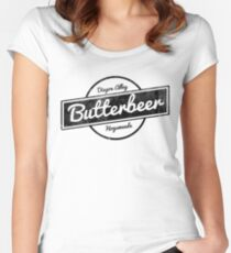 Butterbeer Women's Fitted Scoop T-Shirt