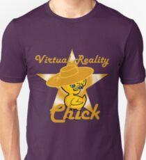 Virtual Reality Chick #10 Unisex T-Shirt