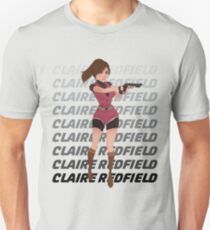 CLAIRE REDFIELD RESIDENT EVIL T-Shirt