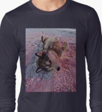 Husky Snow Dog  Long Sleeve T-Shirt