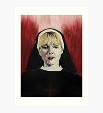 Sister Mary Art Print