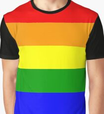 Gay Pride Flag Shirt Graphic T-Shirt