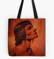A Woman Born from Fire Tote Bag