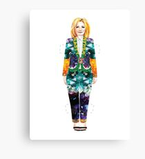 Nasty Woman Paper Doll Canvas Print