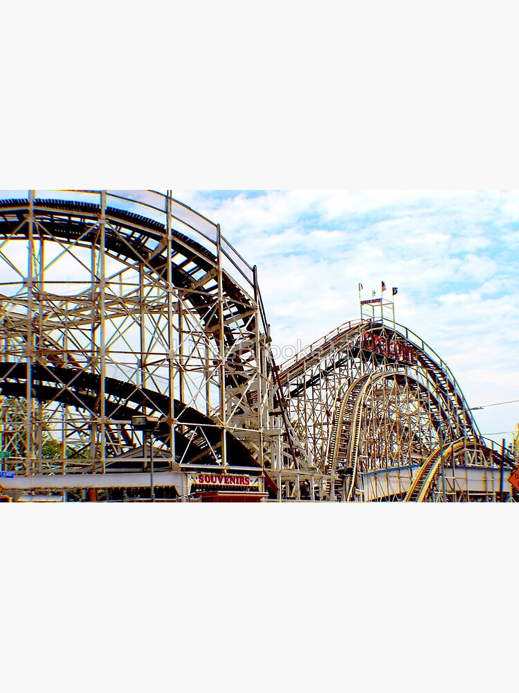 Coney Island Cyclone  by LindsBrooke12