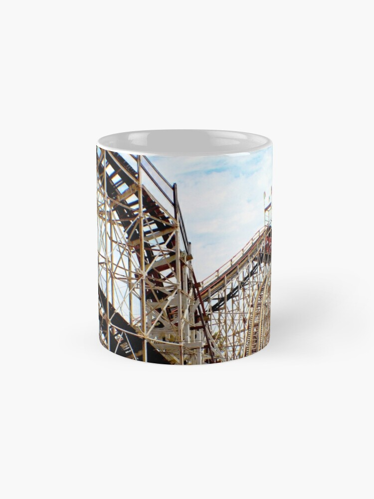 Alternate view of Coney Island Cyclone  Mugs