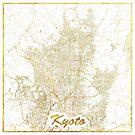 Kyoto Karte Gold von HubertRoguski