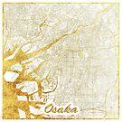 Osaka Karte Gold von HubertRoguski