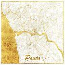 Porto Karte Gold von HubertRoguski