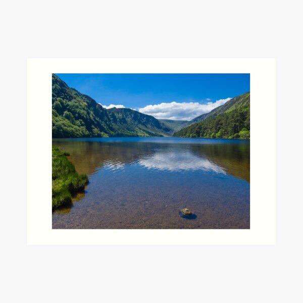 Upper Lake at Glendalough Art Print