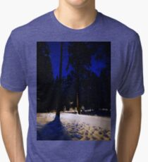nature snow Tri-blend T-Shirt