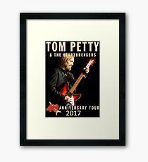 JBJ952010 TOM PETTY 40 TH ANNIVERSARY Framed Print