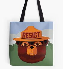 RESISTEY THE BEAR Tote Bag