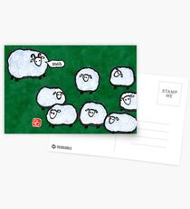 Japanese Sheep Say Meh Postcards