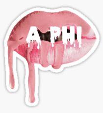 Alpha Phi Lips Sticker