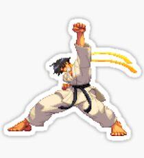 Street Fighter - Makoto Uppercut Sticker