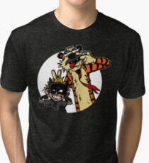 Calvin Hobbes Tri-blend T-Shirt