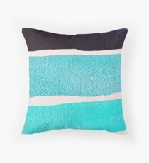 Tropical Breeze in Blue!  Throw Pillow
