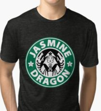 The Jasmine Dragon Tri-blend T-Shirt