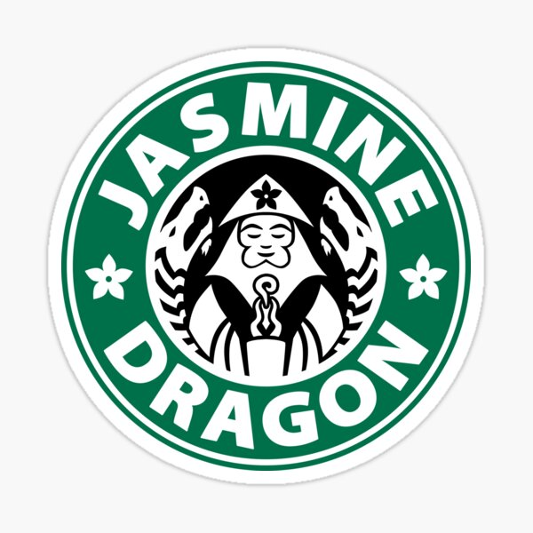Le dragon de jasmin Sticker