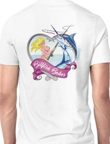 Billfish Babes Logo - White Background Unisex T-Shirt
