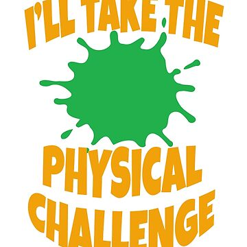 Double Dare - Nickelodeon - I'll Take The Physical Challenge by Television-