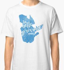 Quebec - la belle province Classic T-Shirt