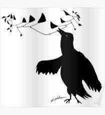 Smart Bird Poster