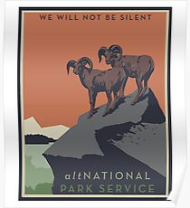 altNPS - We Will Not Be Silent Poster