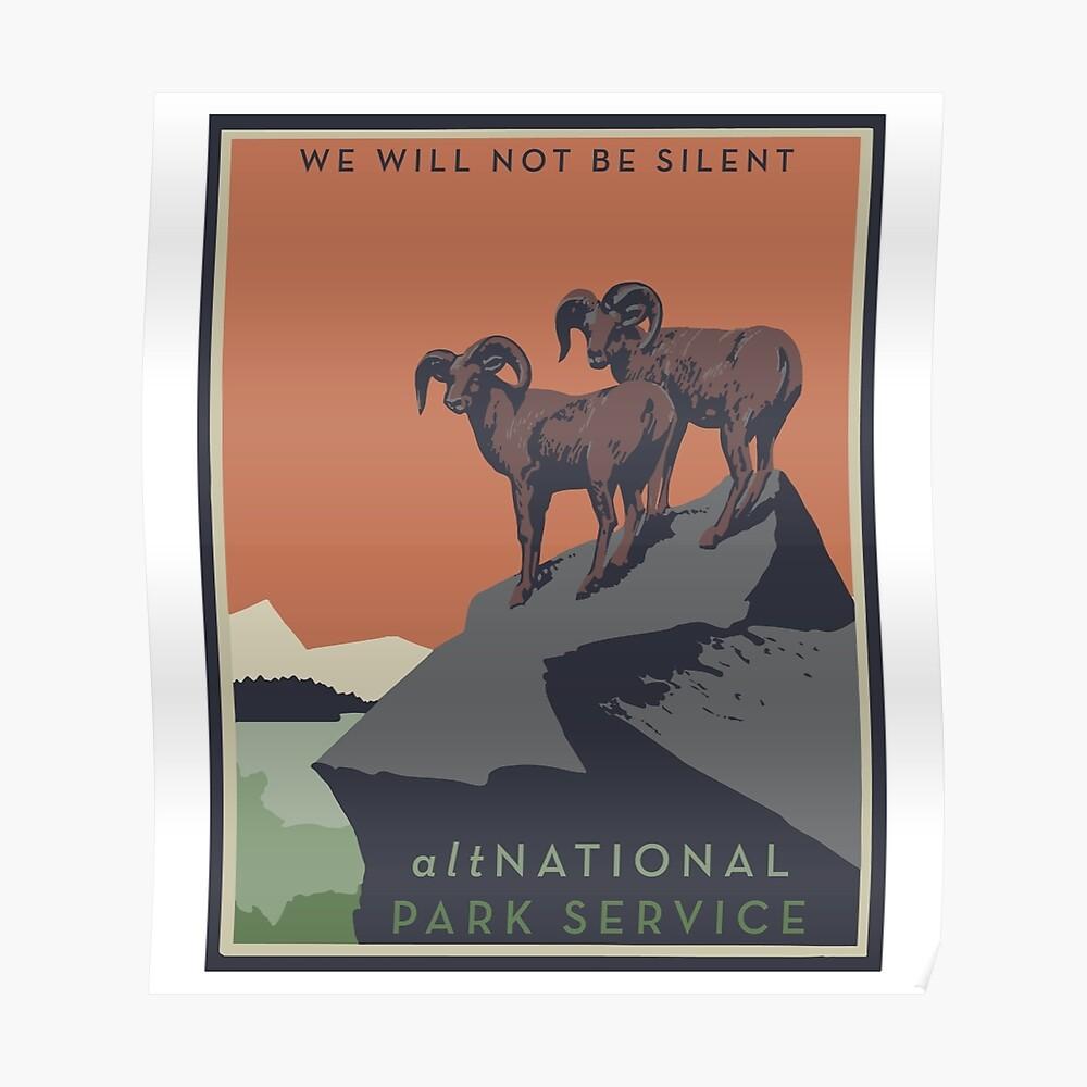 altNPS - Wir werden nicht still sein Poster