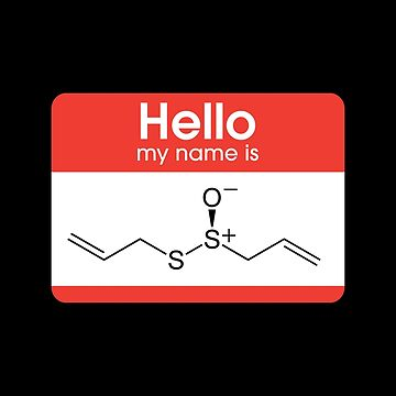 Hello My Name Is Allicin by aleesan