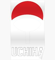 Uchiha crest symbol and name Poster