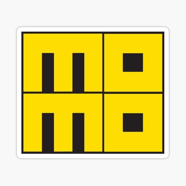 Momo Sticker