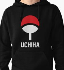 Uchiha crest symbol and name Pullover Hoodie