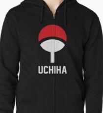 Uchiha crest symbol and name Zipped Hoodie