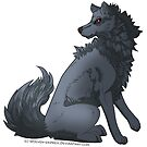 Sitting Wolf by Wolven-Empress
