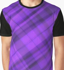 Purple layer pattern Graphic T-Shirt
