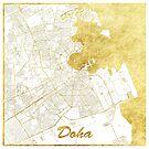 Doha Karte Gold von HubertRoguski