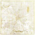 Dallas Karte Gold von HubertRoguski