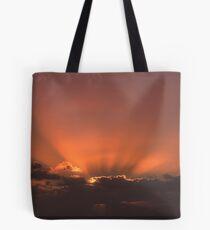 Suns Rays Tote Bag