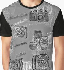 Cameras And Photography Graphic T-Shirt
